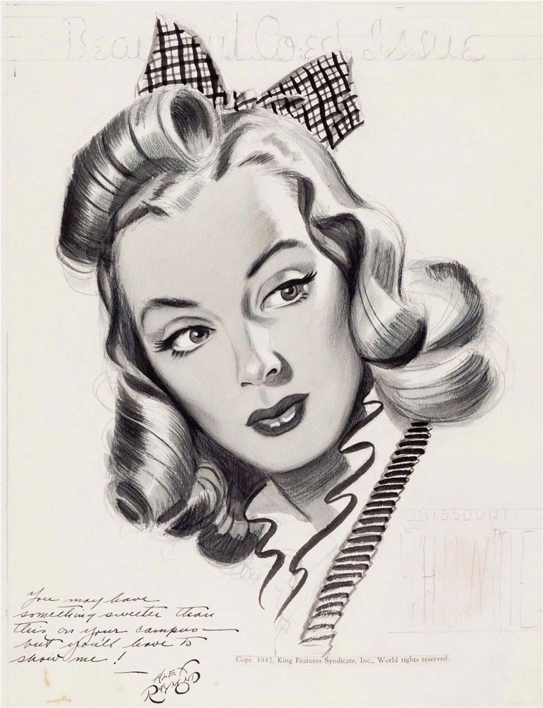 Alex Raymond, Usa, 1909-1956