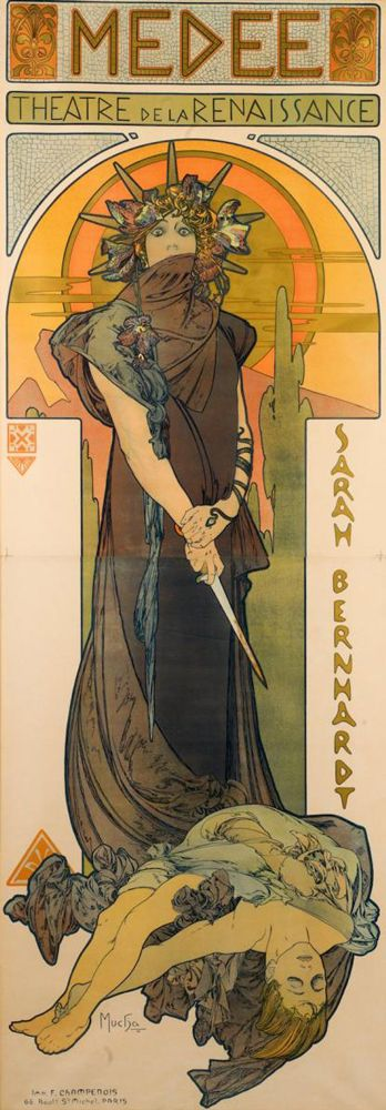 Alphonse Mucha, Imperio austriaco, 1860-1939