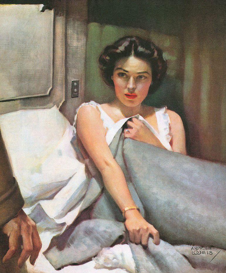 Andrew Loomis, Usa, 1892-1959