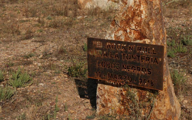 Cementerio de Morille: Lobos Negros, marzo 2018