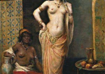 Beautes du Harem de Henri Adrien Tanoux (Francia, 1865-1923)