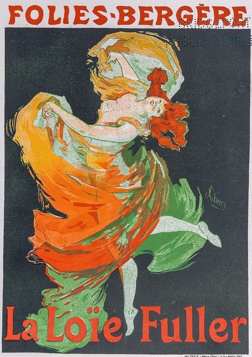 Jules Chéret, Francia, 1836-1932