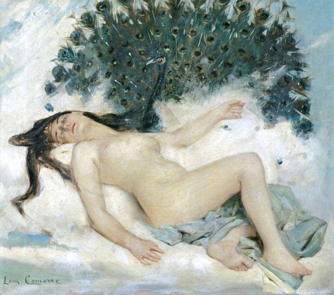 Odalisca de Leon François Comerre (Francia, 1850–1916)