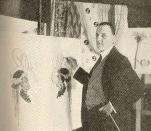 Pin-Up - Antecedentes: Raphael Kirchner, Austria, 1876-1917