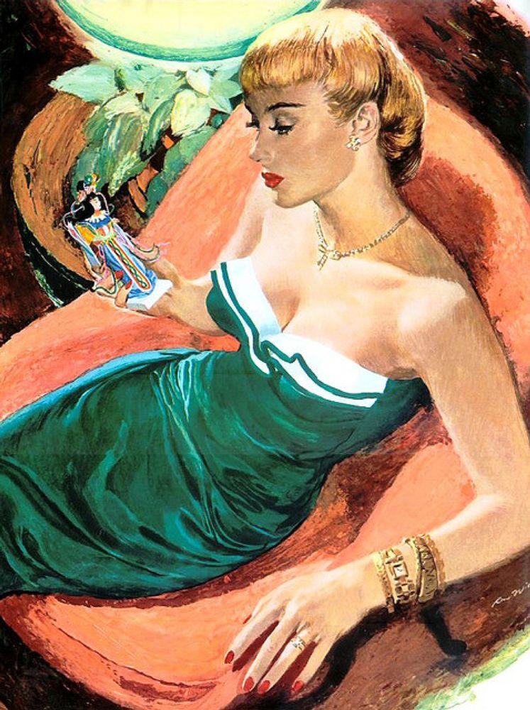 Ren Wicks, Usa, 1911-1997
