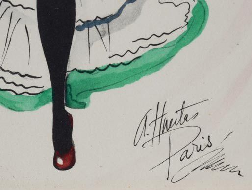 Alice Huertas, Francia, 19??-19??