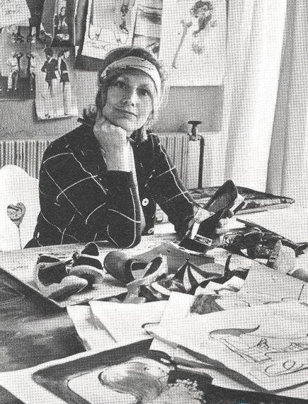 Pin-Up - Clásicos: Christell Marott, Dinamarca, 1919-1992