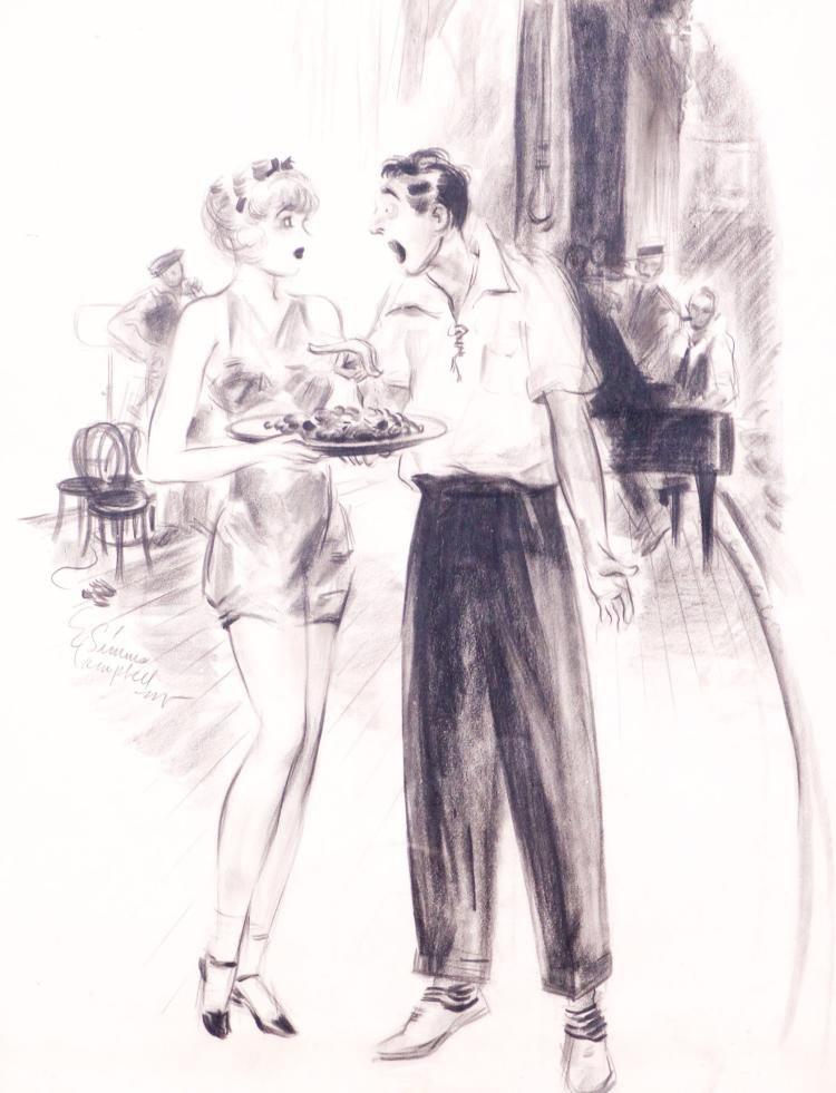 E. Simms Campbell, Usa, 1906-1971