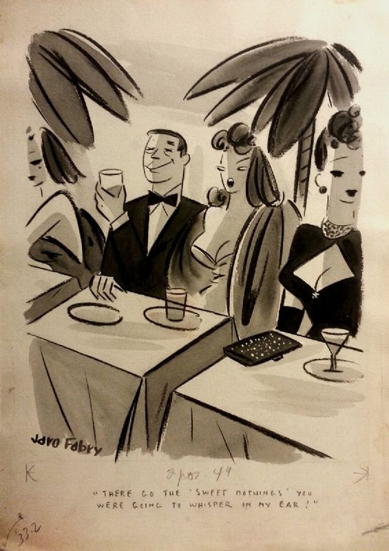 Jaro Fabry, Usa, 1912-1953