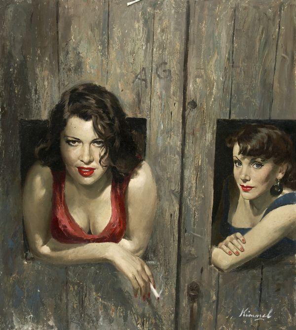 Lu Kimmel, Usa, 1905-1973