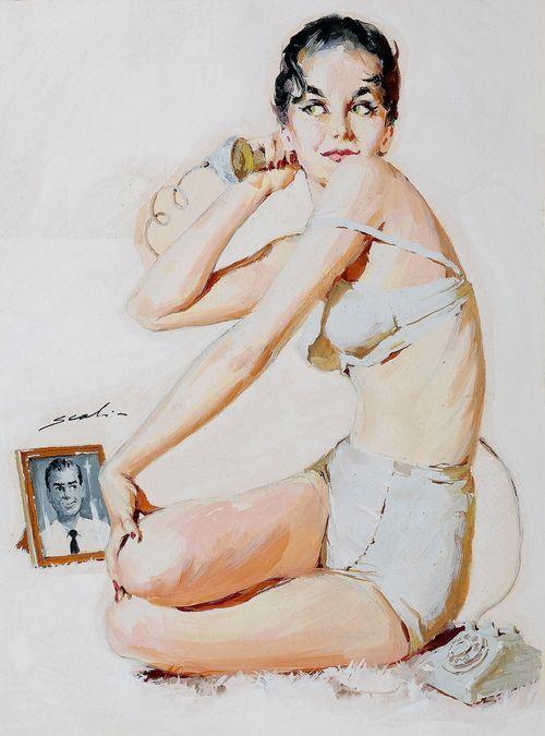Mauro Scali, Usa, 1926-1988