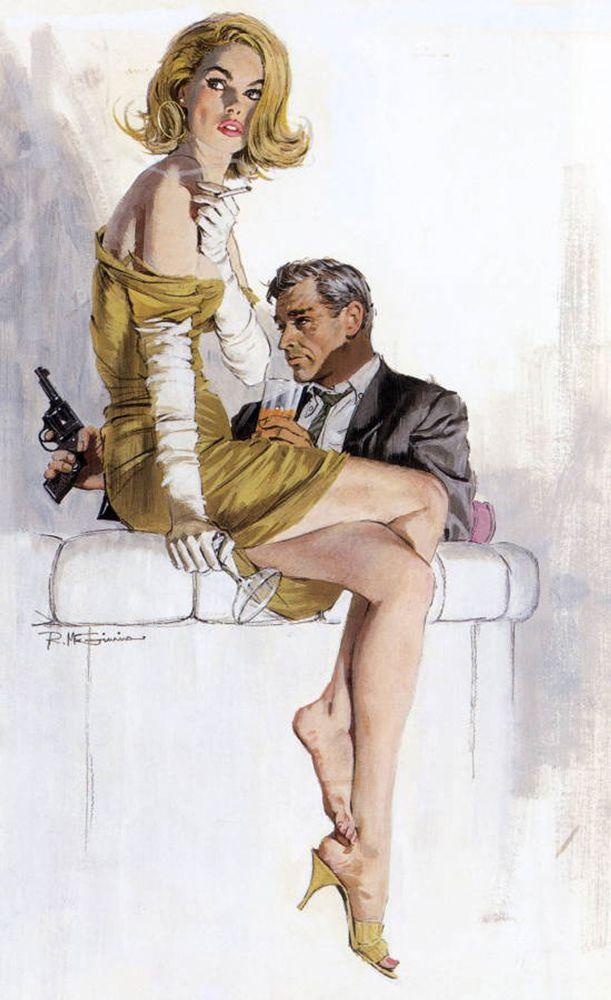 Robert McGinnis, Usa, 1926