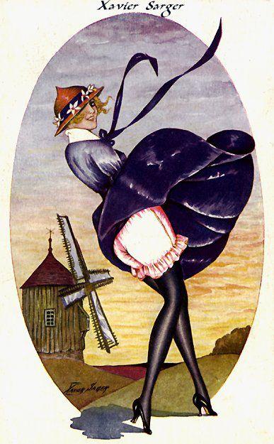 Xavier Sager, Francia, 1870-1930