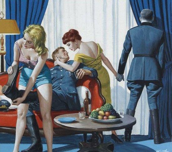 Mort Kunstler, Usa, 1931