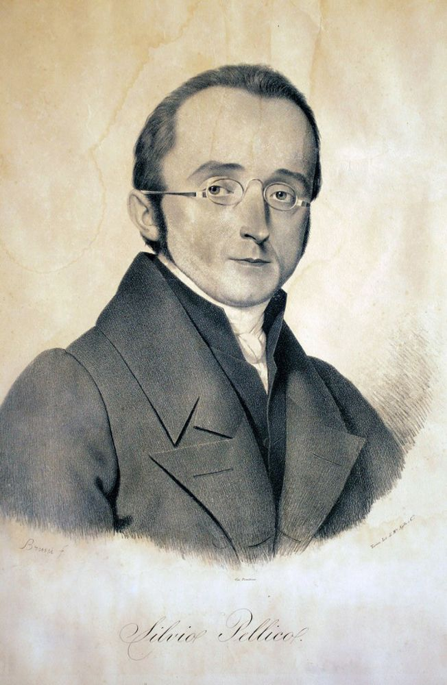 Silvio Pellico, Italia, 1789-1854