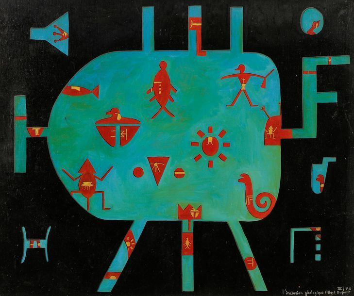 Albert Dupont, poesía visual