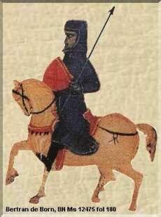Bertran de Born, Francia, 1140-1215