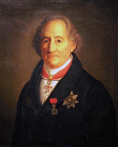 Johann Wolfgang von Goethe, Sacro Imperio Romano Germánico, 1749-1832
