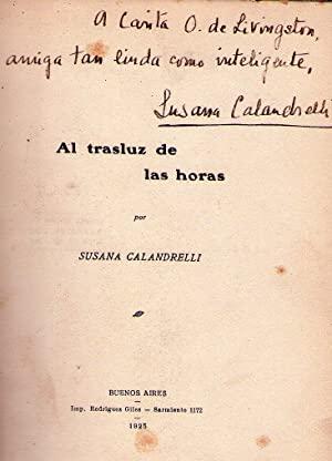 Susana Calandrelli, Argentina, 1901-1978