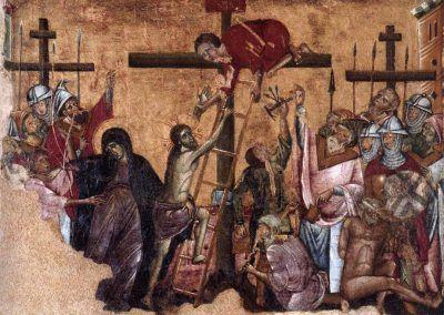 1270-80, Cristo crucificado de Guido de Siena (Catharijneconvent de Utrecht, Paises Bajos)