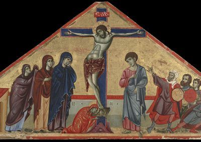 1270-80, Crucifixión de Guido de Siena (Yale University Art Gallery, Usa)