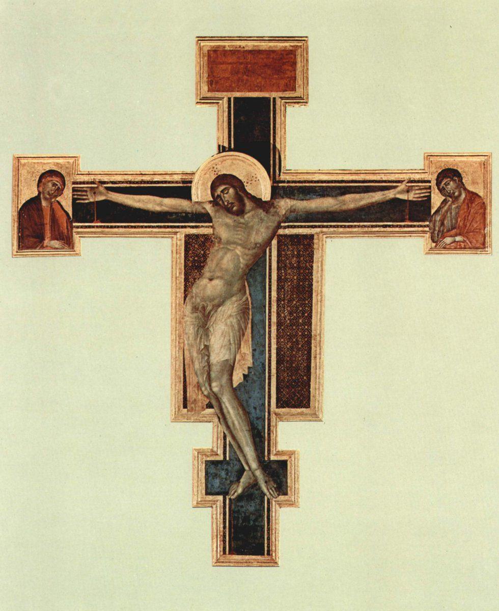 1288, Crucifijo de Santa Croce de Giovanni Cimabue (Museo dell'Opera di Santa Croce. Florencia)