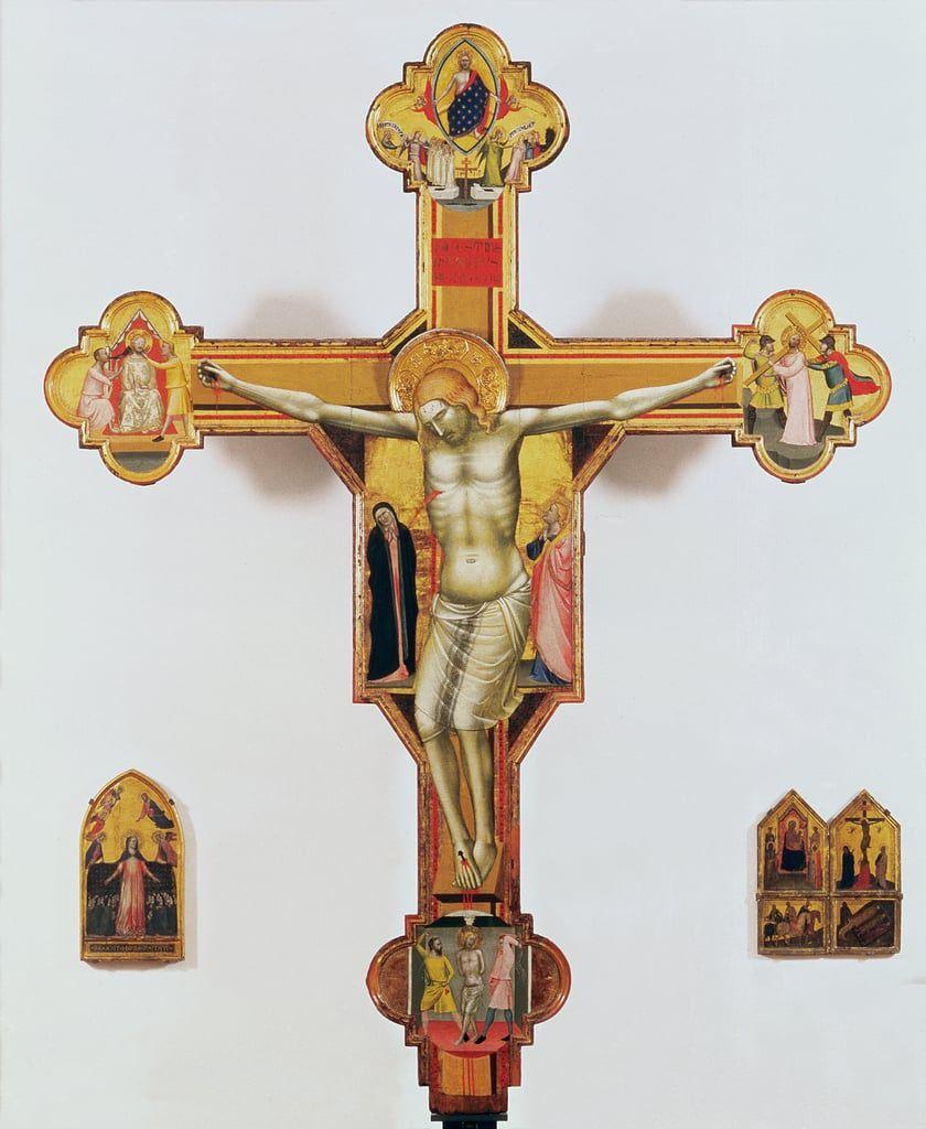 13??, Crucifijo de Bernardo Daddi