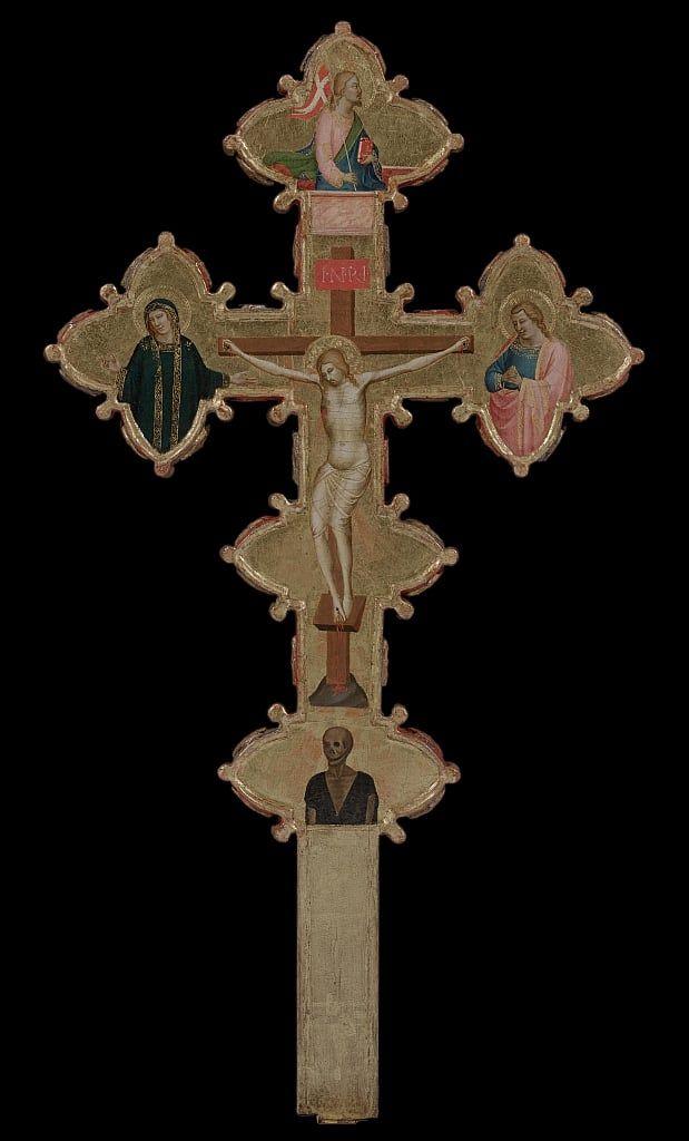 1335-40, Cruz de doble cara de Bernardo Daddi