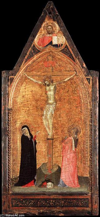 1340, Crucifixion de Bernardo Daddi (Collezione Vittorio Cini, Venecia, Italia)