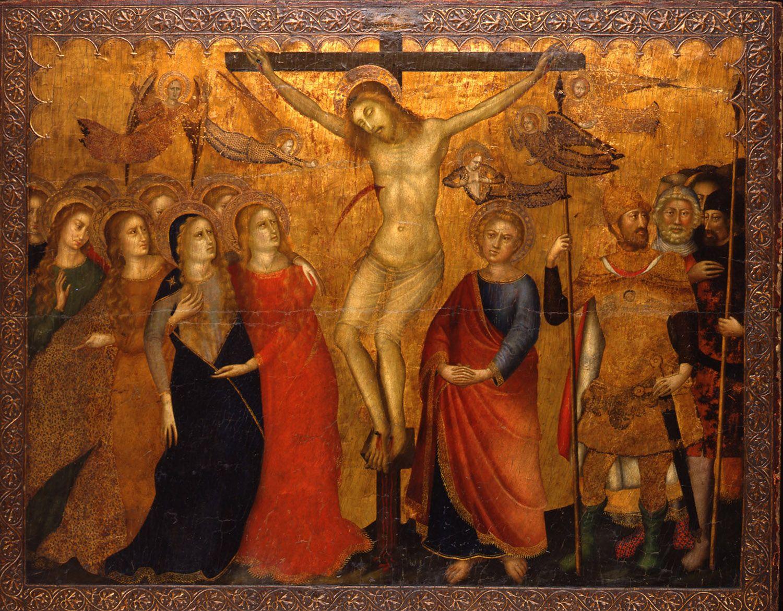 1350, Crucifixión (anónimo) (Museo de Bellas Artes de Asturias)