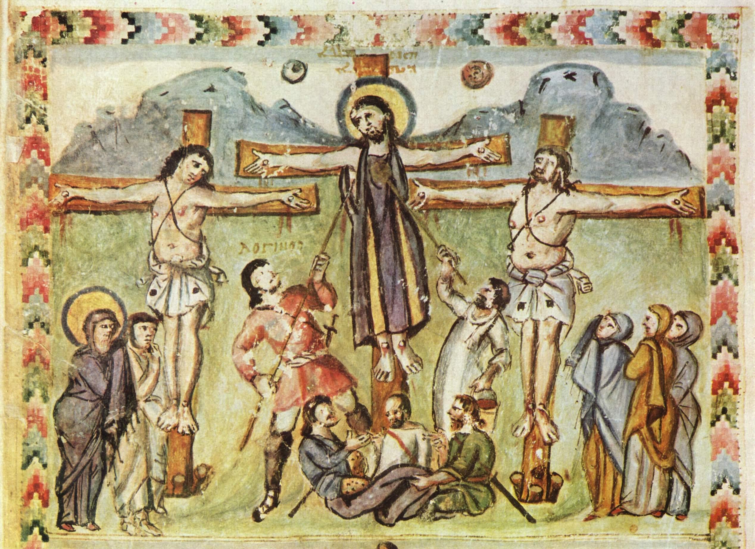 586, Evangelios de Rabbula (anónimo) (Biblioteca Medicea Laurenziana de Florencia)