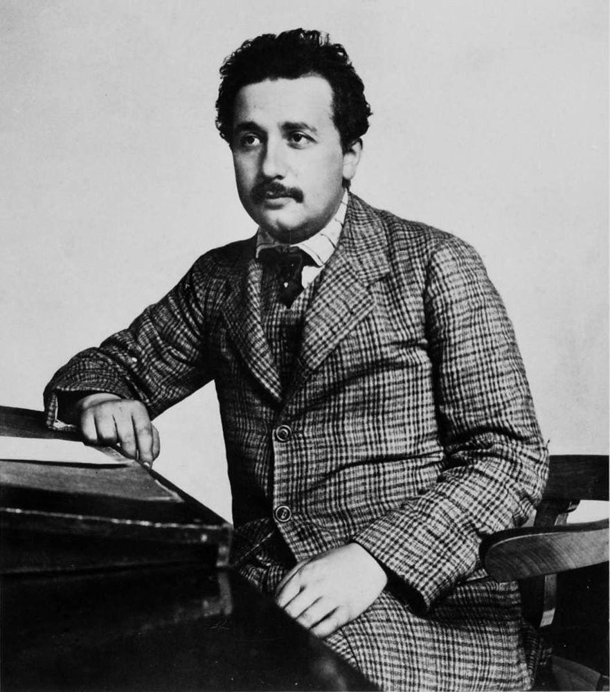 Albert Eisntein: personajes que nunca fueron jóvenes