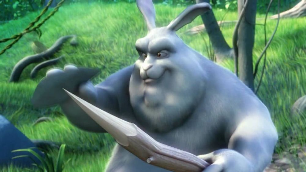 Big Buck Bunny de Sacha Goedegebure