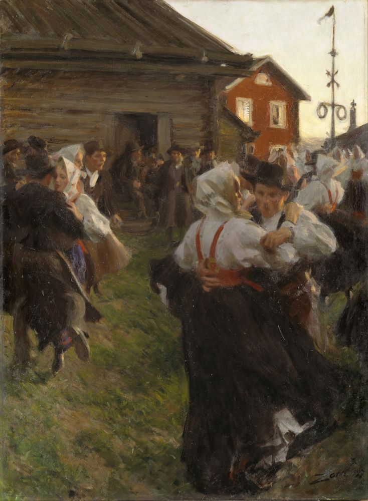 Anders Zorn, Suecia, 1860-1920