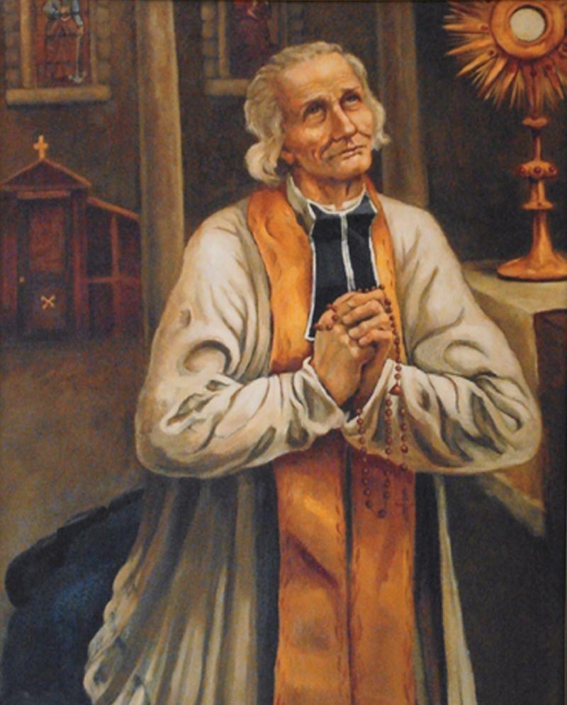 Juan María Vianney (cura de Ars) y el demonio