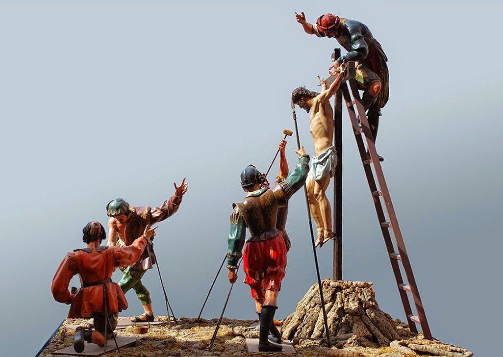 1612-16, Paso de la Crucifixión de Gregorio Fernández