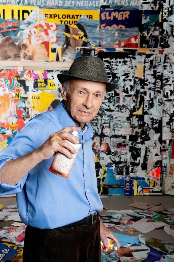Jacques Villeglé, poesia visual