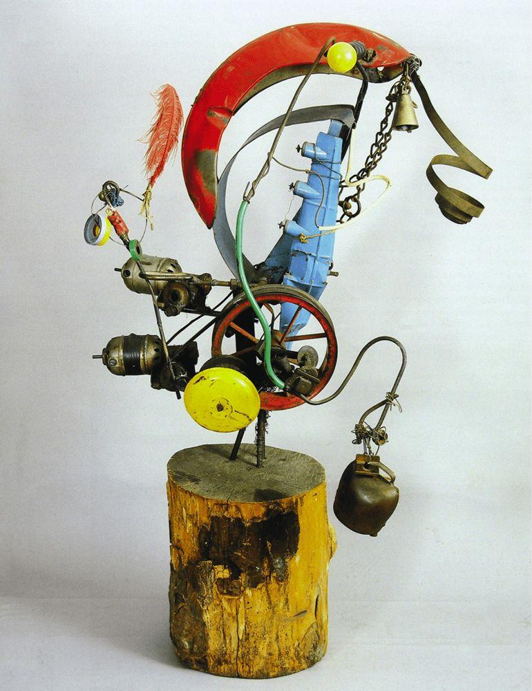 Jean Tinguely, poesia visual
