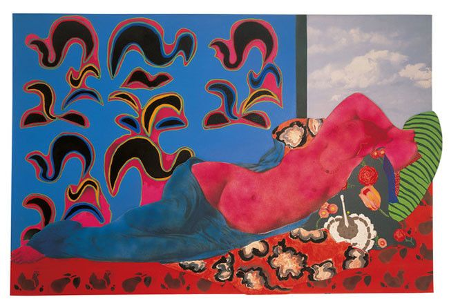 Martial Raysse, poesia visual
