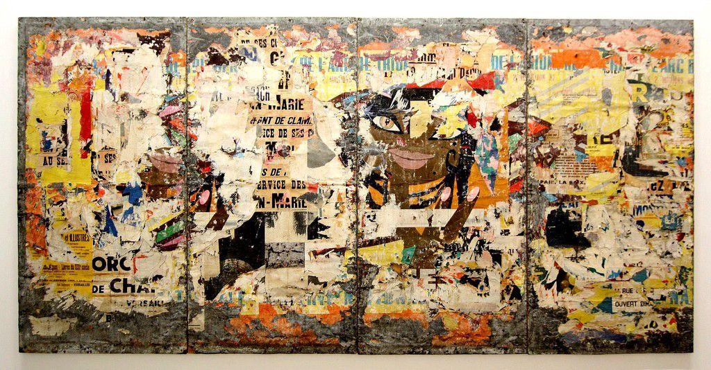 Raymond Hains, poesia visual