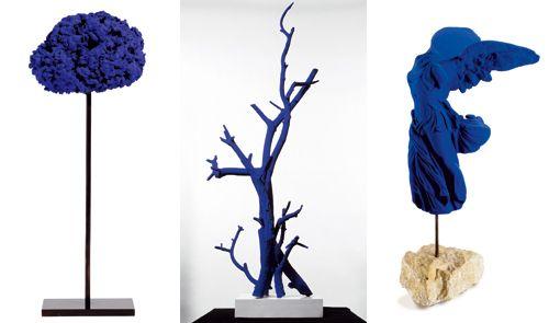 Yves Klein, poesia visual