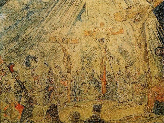 1886, Calvario de James Ensor