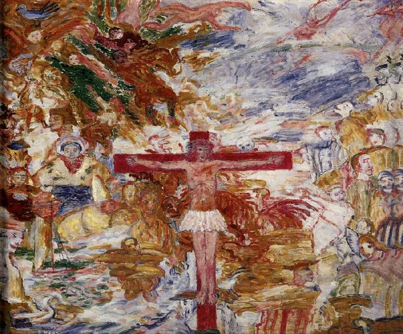 1888, Christ in agony de James Ensor