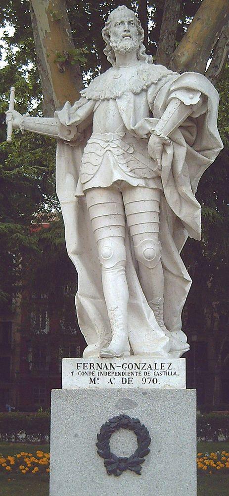Fernán González, Burgos, 910-970