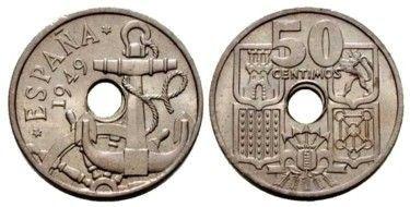 Moneda de 50 céntimos de peseta