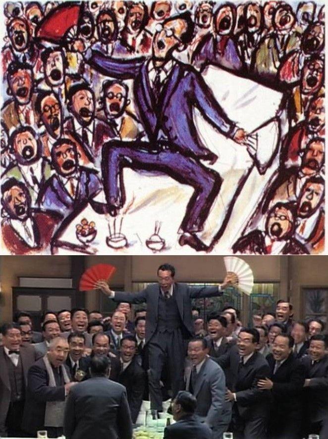 Bocetos de Akira Kurosawa