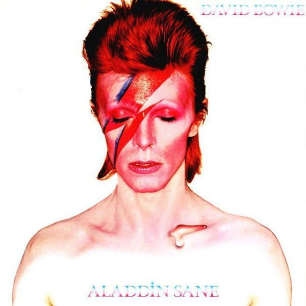 Portada disco Aladdin Shane, 1973, David Bowie