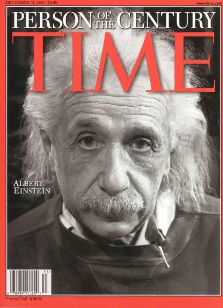 Portada Albert Einstein revista Times