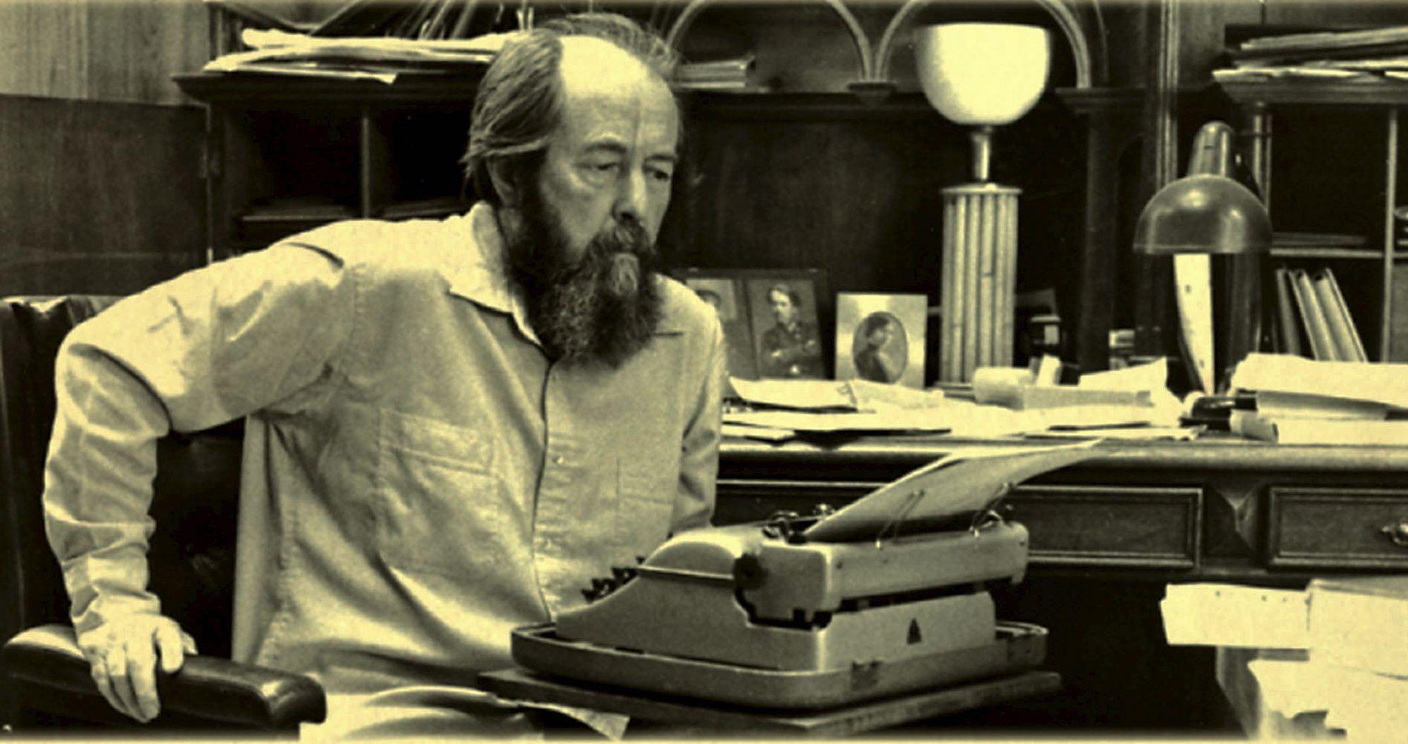 Discurso de Aleksandr Solzhenitsyn en Harvard el 8 de junio de 1978