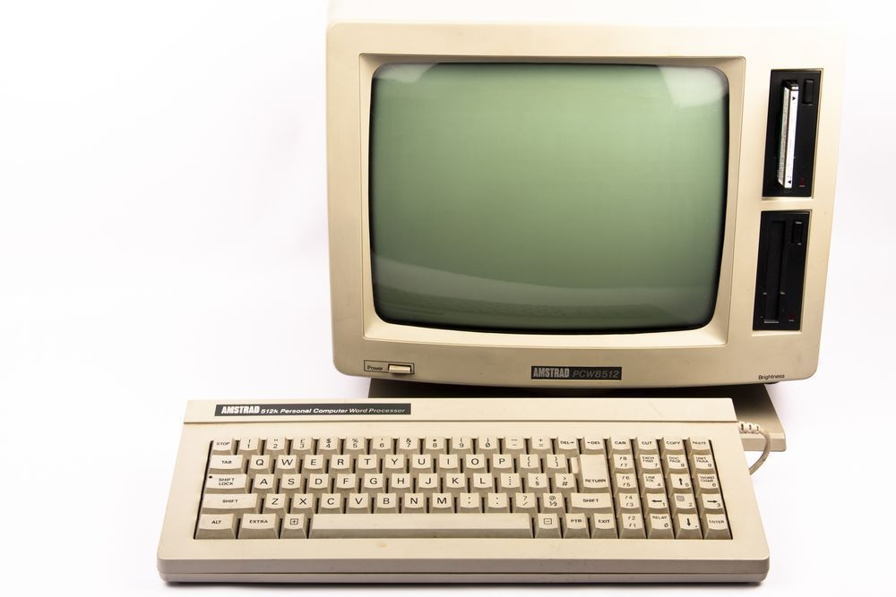 AMSTRAD PCW 512